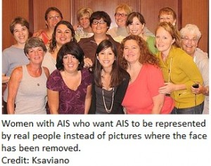 women with AIS