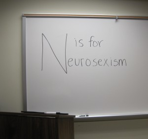 N is for Neurosexism